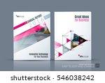 business vector. brochure... | Shutterstock .eps vector #546038242