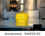 3d printer printing objects... | Shutterstock . vector #546055192