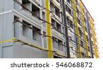 construction site building | Shutterstock . vector #546068872