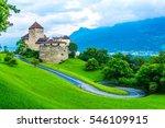 gutenberg castle in the... | Shutterstock . vector #546109915