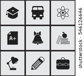 set of 9 editable knowledge...