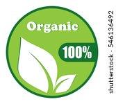 organic symbol vector design...   Shutterstock .eps vector #546136492