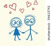 drawing | Shutterstock .eps vector #54613741