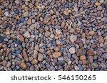 Sea Pebbles. Small Stones...
