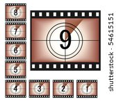 vintage film | Shutterstock .eps vector #54615151