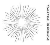 star burst design element on... | Shutterstock .eps vector #546154912