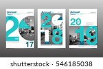 annual report 2017 2018 2019... | Shutterstock .eps vector #546185038