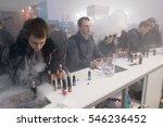 moscow  russia   december 9 ... | Shutterstock . vector #546236452