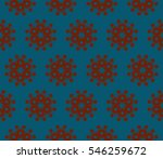 geometric shape abstract vector ... | Shutterstock .eps vector #546259672