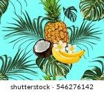 beautiful hand drawn pattern... | Shutterstock .eps vector #546276142