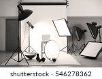 professional photo studio with... | Shutterstock . vector #546278362