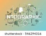 creative infographic banner... | Shutterstock .eps vector #546294316