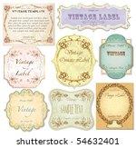 Vector Set Vintage Labels 2