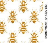 vector seamless pattern with... | Shutterstock .eps vector #546329182