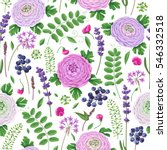 seamless pattern made with... | Shutterstock .eps vector #546332518