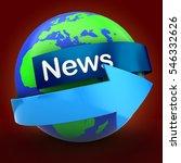 3d illustration of earth over...   Shutterstock . vector #546332626