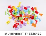 Small photo of Colorful alphabet letters