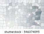 polygon background of silver...   Shutterstock . vector #546374095