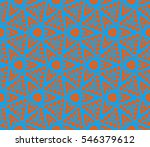 modern stylish texture.... | Shutterstock .eps vector #546379612
