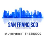 san francisco california... | Shutterstock .eps vector #546380002