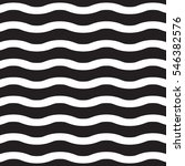 Vector White wavy lines on a black background   Shutterstock vector #546382576