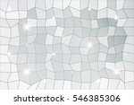 polygon background of silver... | Shutterstock . vector #546385306