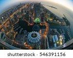 dubai marina   Shutterstock . vector #546391156