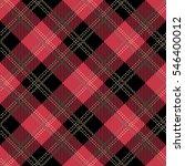 tartan seamless vector patterns ... | Shutterstock .eps vector #546400012