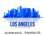 los angeles california  united... | Shutterstock .eps vector #546406135