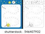 preschool worksheet for... | Shutterstock .eps vector #546407932