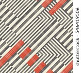 Abstract Seamless Striped...