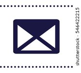 mail icon | Shutterstock .eps vector #546422215
