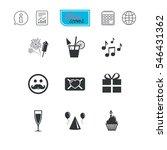 party celebration  birthday... | Shutterstock .eps vector #546431362