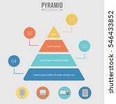 pyramid infographics | Shutterstock .eps vector #546433852