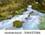 fresh water stream running from ... | Shutterstock . vector #546437086
