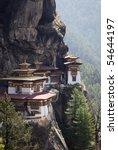 taktshang goemba  bhutan   Shutterstock . vector #54644197