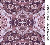 tracery seamless calming...   Shutterstock .eps vector #546448585