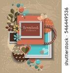 framework for invitation or... | Shutterstock .eps vector #546449536