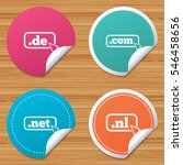 round stickers or website... | Shutterstock .eps vector #546458656