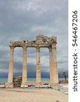 The Temple Of Apollo On The Ti...