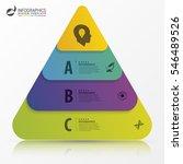 infographic design template.... | Shutterstock .eps vector #546489526