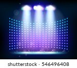 scene illumination show  bright ... | Shutterstock .eps vector #546496408