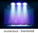 scene illumination show  bright ... | Shutterstock .eps vector #546496408
