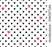 polka dot seamless pattern with ...   Shutterstock .eps vector #546507166
