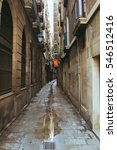 Maze Of Old Narrow Streets In...