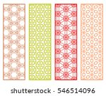 decorative lace borders... | Shutterstock .eps vector #546514096