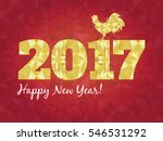 vector illustration of red and... | Shutterstock .eps vector #546531292