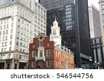 Old State House In Boston...