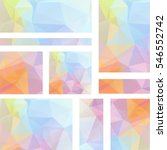 horizontal and vertical banners ... | Shutterstock .eps vector #546552742