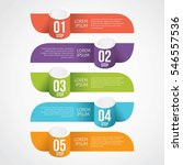 infographic design template can ... | Shutterstock .eps vector #546557536